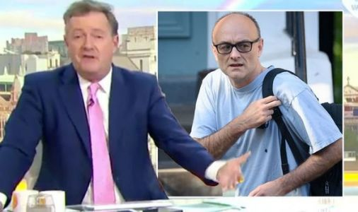 Piers Morgan blasts Dominic Cummings in furious rant on GMB return 'Destroyed lockdown!'