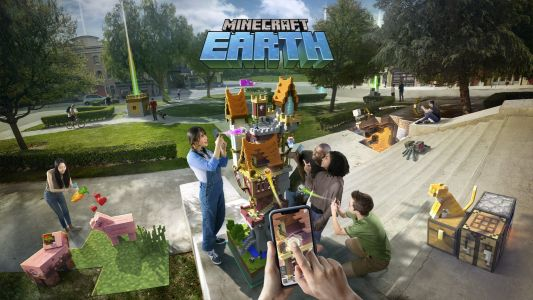 Minecraft Earth, a new AR game, has landed in the US in early access form