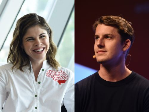 Glossier founder Emily Weiss and Stripe executive Will Gaybrick are engaged. Here are 14 other power couples who rule the tech world
