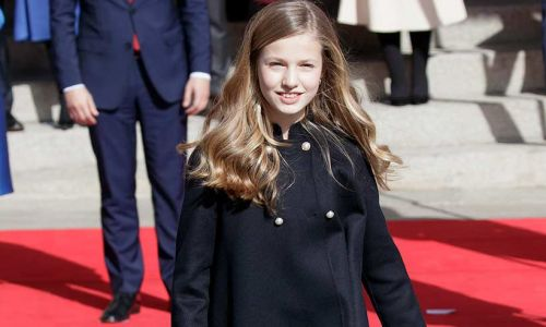 Celebrity daily edit: Princess Leonor looks regal in red at Parliament opening - video