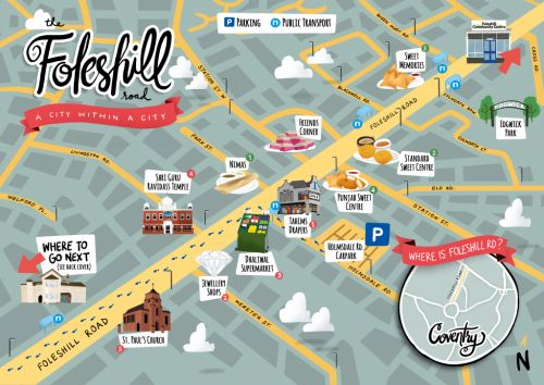 Foleshill Mile Map Launched