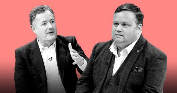 Piers Morgan clashes with Britain's Got Talent star Paul Potts over Caroline Flack's death
