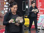 EastEnders' Jessie Wallace stocks up at a health food shop after being told to 'sort herself out'
