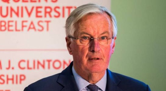 Barnier calls for 'close economic partnership' between UK and Europe after Brexit