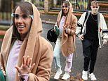 Strictly's Janette Manrara joins Jamie Laing and HRVY heading to rehearsals
