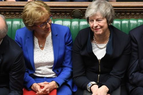 Brexit: Theresa May begs MPs to 'hold our nerve' as vote could be held in final WEEK
