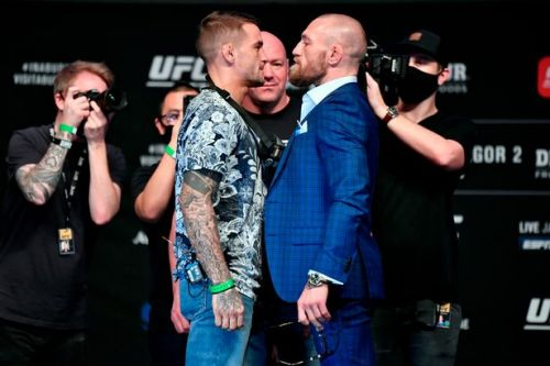 Conor McGregor vs Dustin Poirier UFC 257 weigh-in start time in the UK