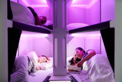 Air New Zealand said it wants to launch the first-ever airplane bed for economy passengers - but there's a catch