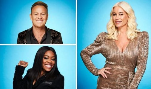 Who is on Dancing on Ice 2021?