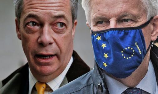 Michel Barnier sheds light on clash with Farage branding Brexiteer a 'liar to his face'