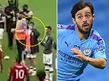 Liverpool fans fume with Manchester City star Bernardo Silva who did NOT clap during guard of honour