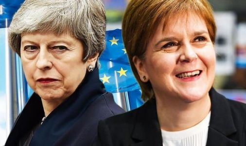 BREXIT CRISIS: Nicola Sturgeon GLOATS after May speech - 'STICKY WICKET!'