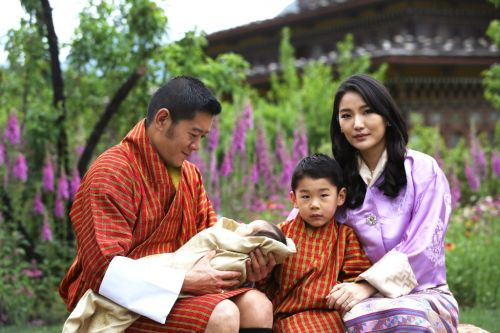 First family of four photos released to celebrate Queen Jetsun Pema's 30th birthday