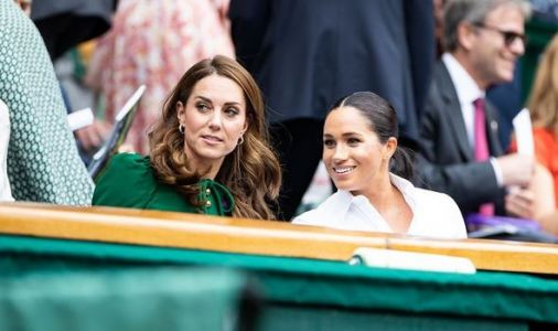 Kate Middleton has become more 'visible' in Meghan Markle's absence claims expert