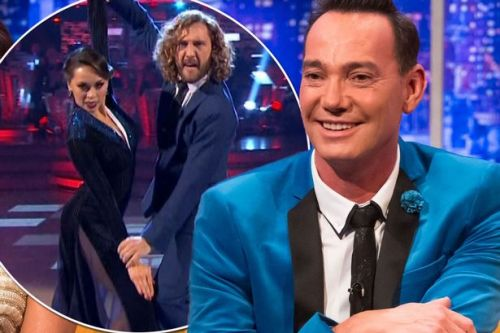 Craig Revel Horwood thinks Strictly curse is a 'blessing' and wants Seann Walsh and Katya Jones to do 'Dance of Shame'
