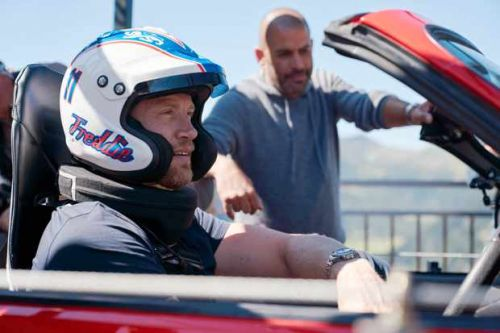 "Top Gear hosts say ""fearless"" Freddie Flintoff's latest stunt was ""potentially life-threatening"""
