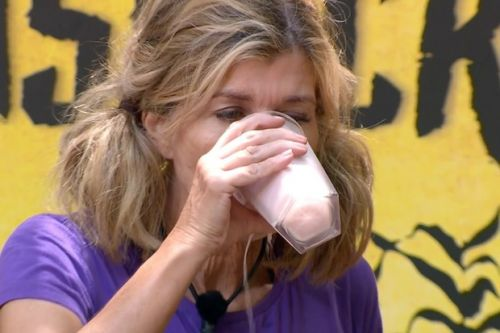 Kate Garraway guzzles on pig brains in gruesome bid to steal immunity from Nadine Coyle on I'm A Celeb