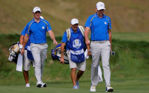 Blundering Rory McIlroy and Ian Poulter succumb to dismal defeat - then claim they played 'quite well'