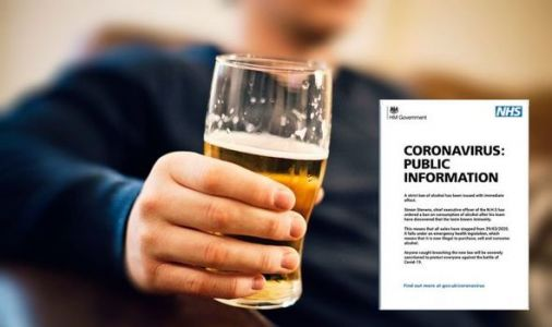 Alcohol ban UK: Has alcohol been banned? Will UK ban alcohol sales?