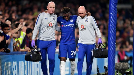 Chelsea winger Callum Hudson-Odoi ruptures Achilles in draw with Burnley
