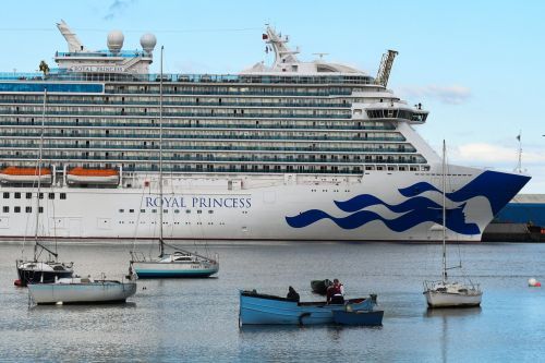 Woman 'choked and thrown off top deck of Royal Princess after row in ship's casino'