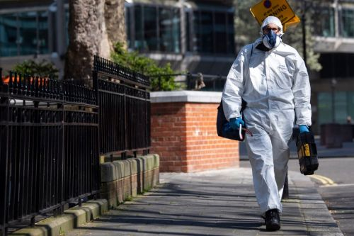 Firefighters agree to deliver food and retrieve bodies during coronavirus pandemic