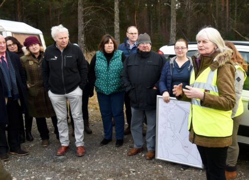 Plans to tear down trees at 'high quality nature spot' in Cairngorms narrowly rejected