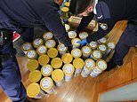 Dramatic Sydney raids 'uncover HUNDREDS of stolen baby formula tins destined for China'