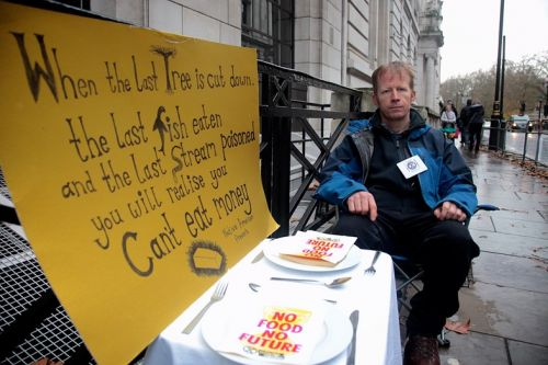 Meet the protesters on hunger strike for climate action
