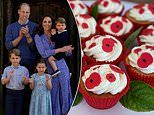 Prince George, Princess Charlotte and Prince Louis surprise care home residents with cakes