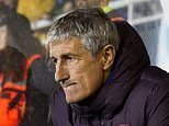 'I didn't like the team': Quique Setien left unimpressed by Barcelona after squeezing past UD Ibiza
