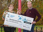 Mother-of-three finds out she won lottery just minutes after being told she had beaten breast cancer