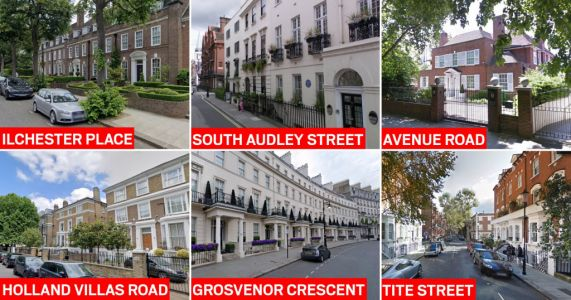 These are the most expensive streets to buy a house in England and Wales