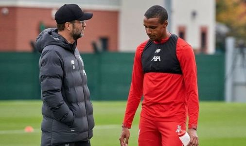 Liverpool boss Jurgen Klopp gives Joel Matip injury update and Bruno Fernandes verdict