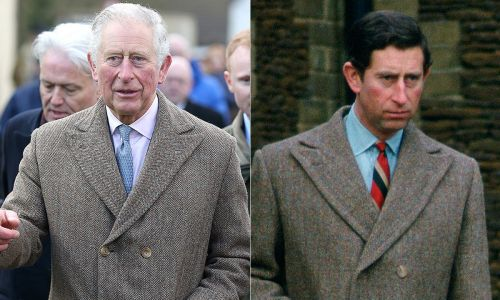 Prince Charles has been re-wearing two coats since the eighties