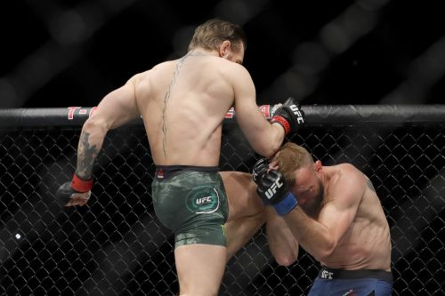 Donald Cerrone failed to land one strike in his 1st round loss to Conor McGregor