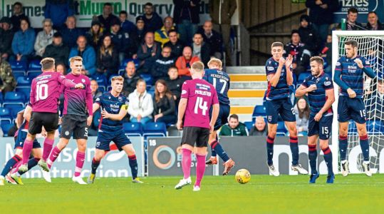 Skipper is the goal hero as Ross County dig deep for victory after keeper's howler