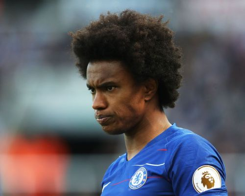 Willian fires major dig at Antonio Conte after Chelsea's FA Cup win over Manchester United