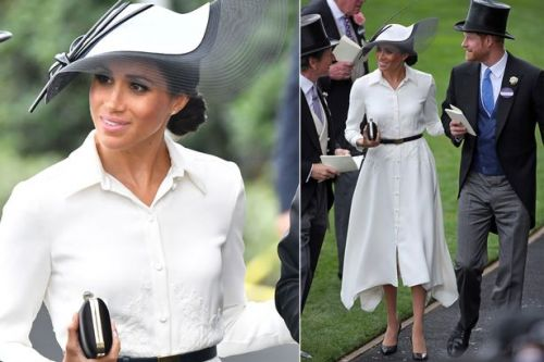 Get Meghan Markle's shirt dress from her Royal Ascot debut for less on the high street