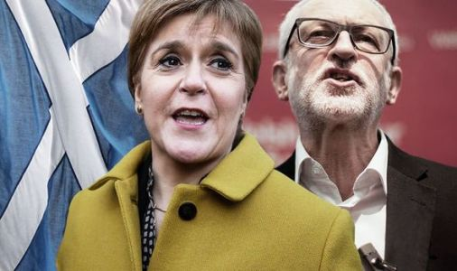Jeremy Corbyn granting Nicola Sturgeon independence wish would lead to 'chaos' - WARNING