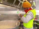 Sikh volunteers delivering free food to Melbourne's lockdown housing commission towers