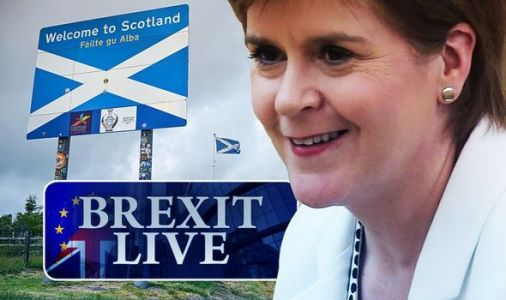 Brexit LIVE: Sturgeon to be handed post-Brexit trade powers - border blueprint released