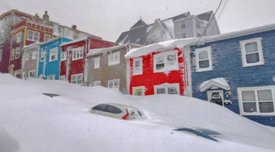 Incredible timelapse shows how much snow fell in 24 hours