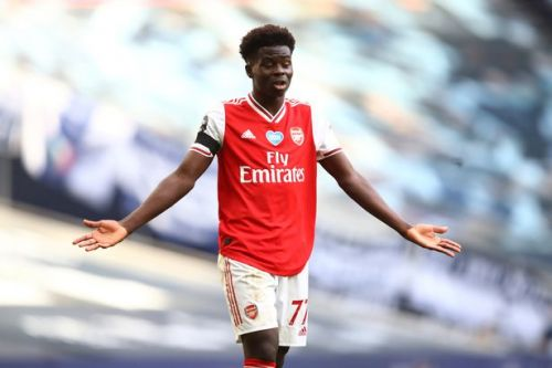 Arsenal aim dig at Premier League after Bukayo Saka snubbed from award shortlist