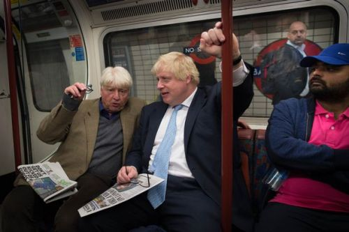 Boris Johnson's dad warns he 'almost took one for the team' from coronavirus