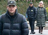 Ant McPartlin and Anne-Marie Corbett enjoy a casual stroll after his Saturday Night Takeaway return