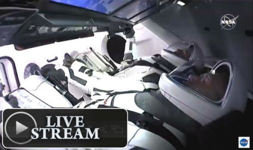 NASA launch LIVE: Watch the historic NASA-SpaceX Crew Dragon launch HERE today