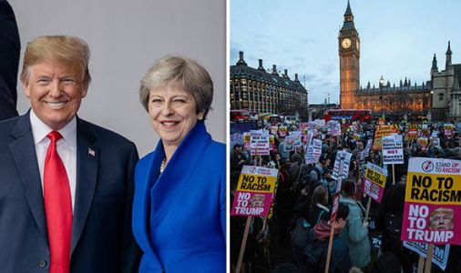 Donald Trump UK visit: When and where is Trump protest in London?