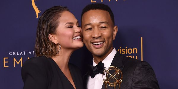 Chrissy Teigen gives a hilarious retort to People naming John Legend Sexiest Man Alive: 'All downhill from here'