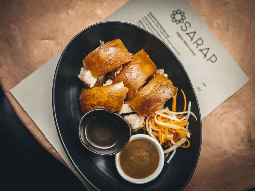 Hit Filipino Residency Sarap Brings Crackling, Melting Lechon to Brixton This Month